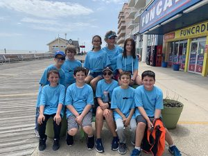 Fourth Grade Students At Ocean City Elementary School Complete Fitness Walk