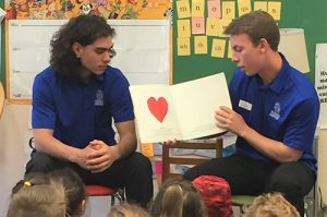 Stephen Decatur Baseball Team Visits Showell Elementary To Read To Kindergartens And First Graders