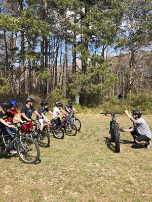 Berlin Intermediate School Students Enjoy Opportunity To Learn Safe Mountain Biking Practices