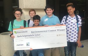 Berlin Intermediate School Students Payne, McDermott, Henry, Flores And Gallo Represent BIS In The Student Environmental Action Showcase