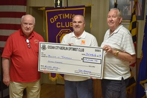 Ocean City/Berlin Optimist Club Donates $15,000 To Believe In Tomorrow