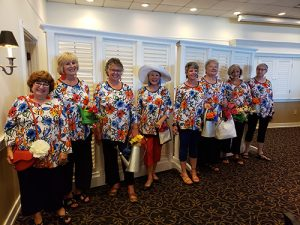 Democratic Women's Club Celebrate Summer With A Luncheon And Fashion Show