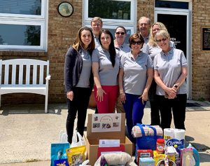 Faw, Casson & Co., LLP Employees And Clients Donate Supplies To Worcester County Humane Society