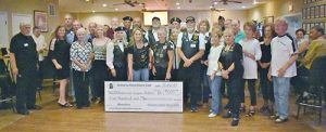 Delmarva Hand Dance Club Donates $500 To American Legion Riders Post 19