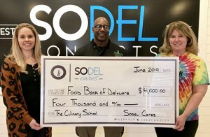 SoDel Cares Donates $4,000 To The Food Bank Of Delaware