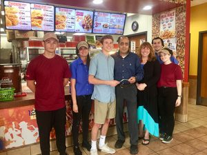 Popeye's Chicken In West Ocean City Holds Fundraiser Event For Stephen Decatur's Math Honor Society