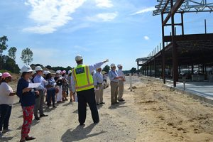 County Officials Visit New Showell Elementary School