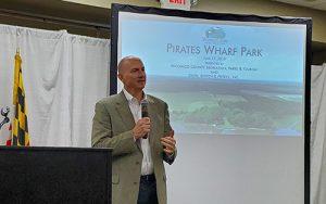 Park Plan Features Pavilion, Trails, Boat Ramp, Fishing Pier