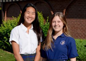 Worcester Prep Sophomores Choy And Perdue Selected As Ambassadors To 40th Annual Hugh O'Brian Youth Leadership Seminar