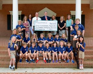 AGH Representatives Visit Worcester Prep To Accept $525.25 Donation