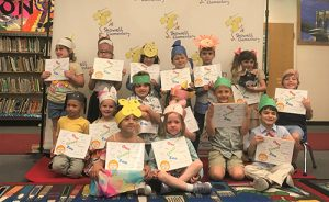 Showell Elementary Kindergarten Students Become Published Authors