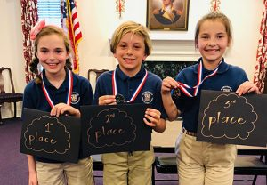 Worcester Prep Third Graders Participate In Annual Spelling Bee