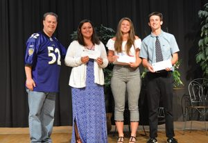 Ravens Roost #44 Presented Scholarships To Three Outstanding Stephen Decatur High School Student/Athletes