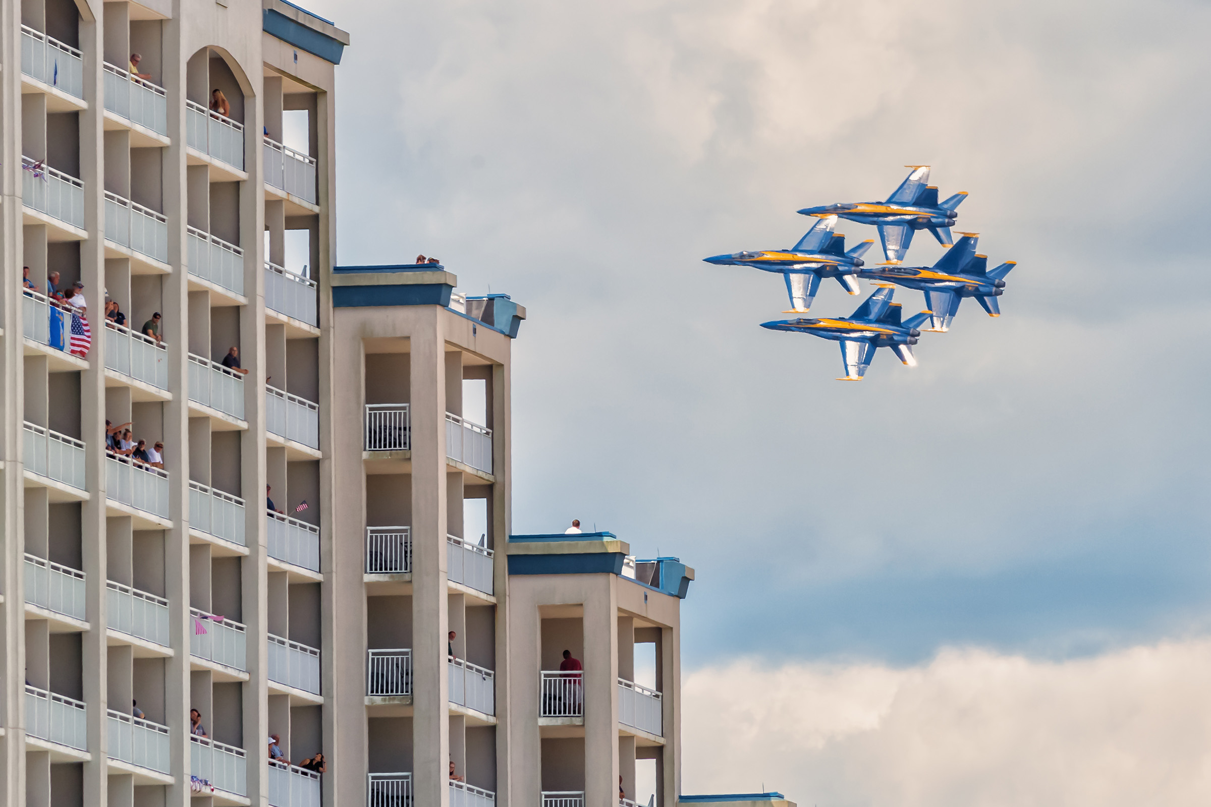 Perfect Weather, Blue Angels Bring Crowds To Resort; Weekend Called 'A Great Success'
