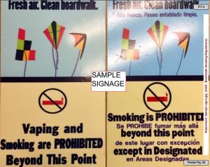 Butt Hutt, No Smoking Signage Plan Moves Ahead To Address Litter Problem Near Boardwalk