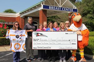 Shorebirds Donate $4,269 To Peninsula Breast Center