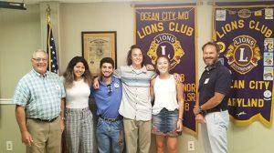 Stephen Decatur Students Receive Lion Scholarships