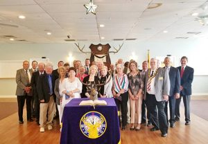 25 New Elks Lodge Members Initiated