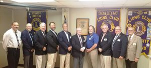 OC Lions Club Installs New Officers