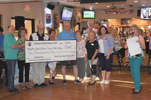 """Delmarva Hand Dance Club Donates $2,000 To """"Operation Seas The Day"""""""