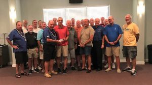 Elks Golf Association Presents $7,500 Scholarship To Poore