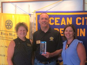 Bakers Presented With Outstanding New Rotarian Award