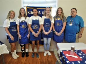 Kiwanis Hold Annual Summer Pancake Fundraiser