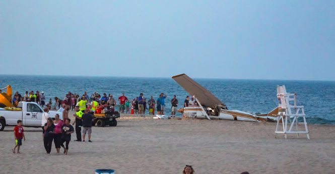 UPDATED: Pilot Uninjured After Emergency Ocean Landing