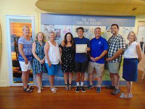 Museum Society Awards Hurley Memorial Scholarship
