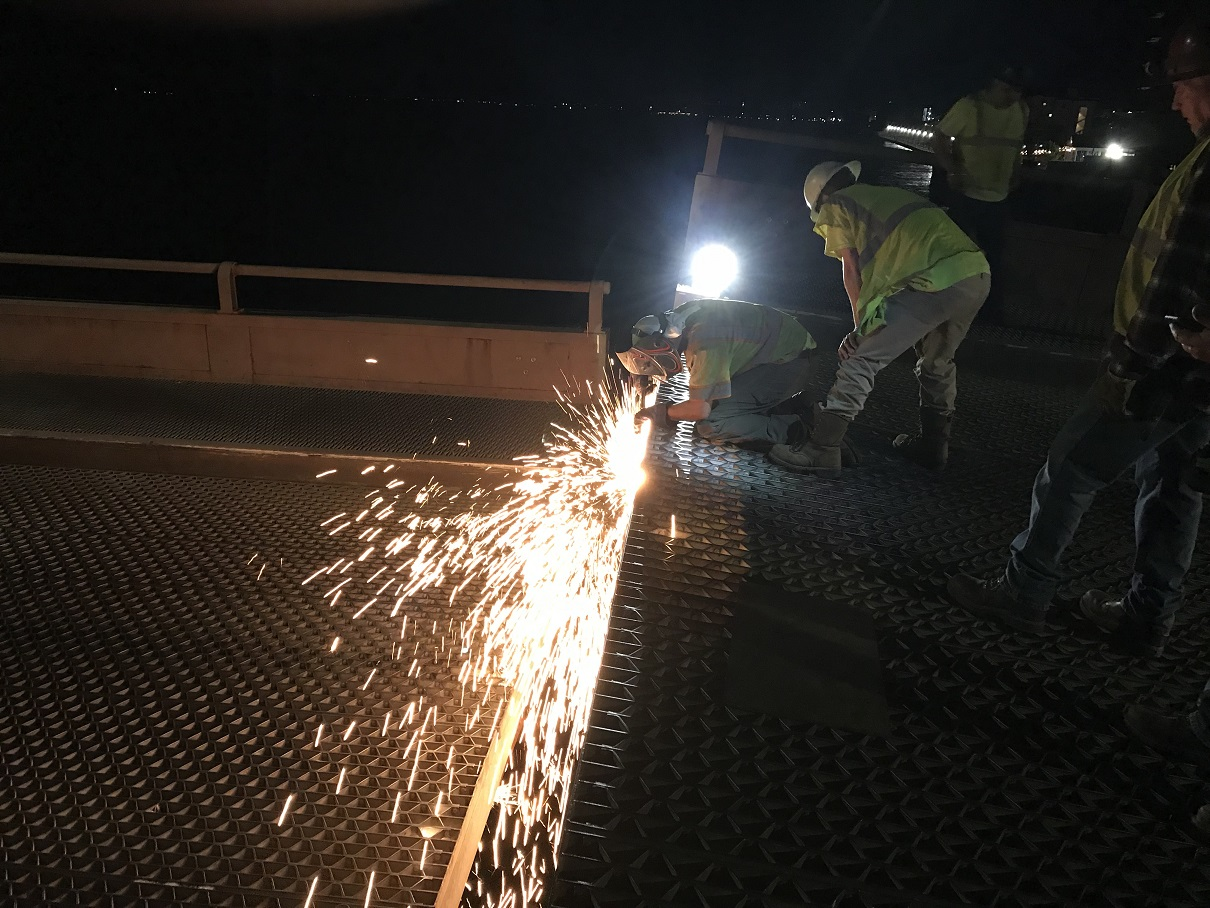 Route 50 Bridge Repairs Completed Overnight Monday