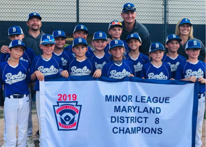 Berlin Little League 9-10 All-Stars Headed To State Tournament
