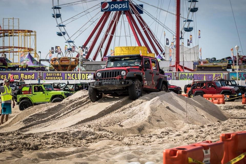 Ocean City Jeep Week Kicks Off Thursday