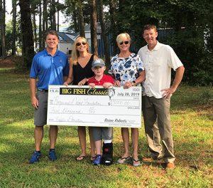 Big Fish Classic Presents Donation To Foundation