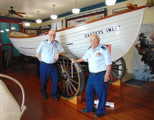 Coast Guard Auxiliary Volunteers Conduct Knot Tying Program