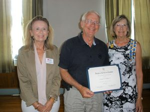 DAR Historic Preservation Recognition Award Presented To Edward P. Phillips, Jr.
