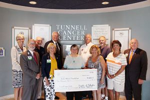 Knights of Columbus Gift $1,000 To Tunell Cancer Center In Memory Of Recently Departed Member