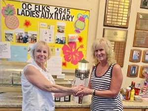 Ocean City Elks Lodge 2645 Ladies Auxiliary Announce Winner