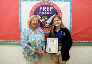 Perdue  First-Place Winner In National Garden Clubs Essay Contest