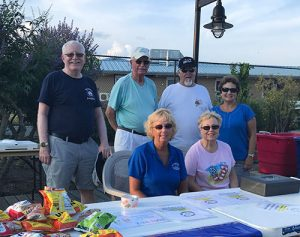 OC Rec Boosters Volunteer At Sunset Park