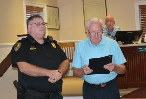 Berlin Police Officer Recognized For Recent Efforts To Save Infant