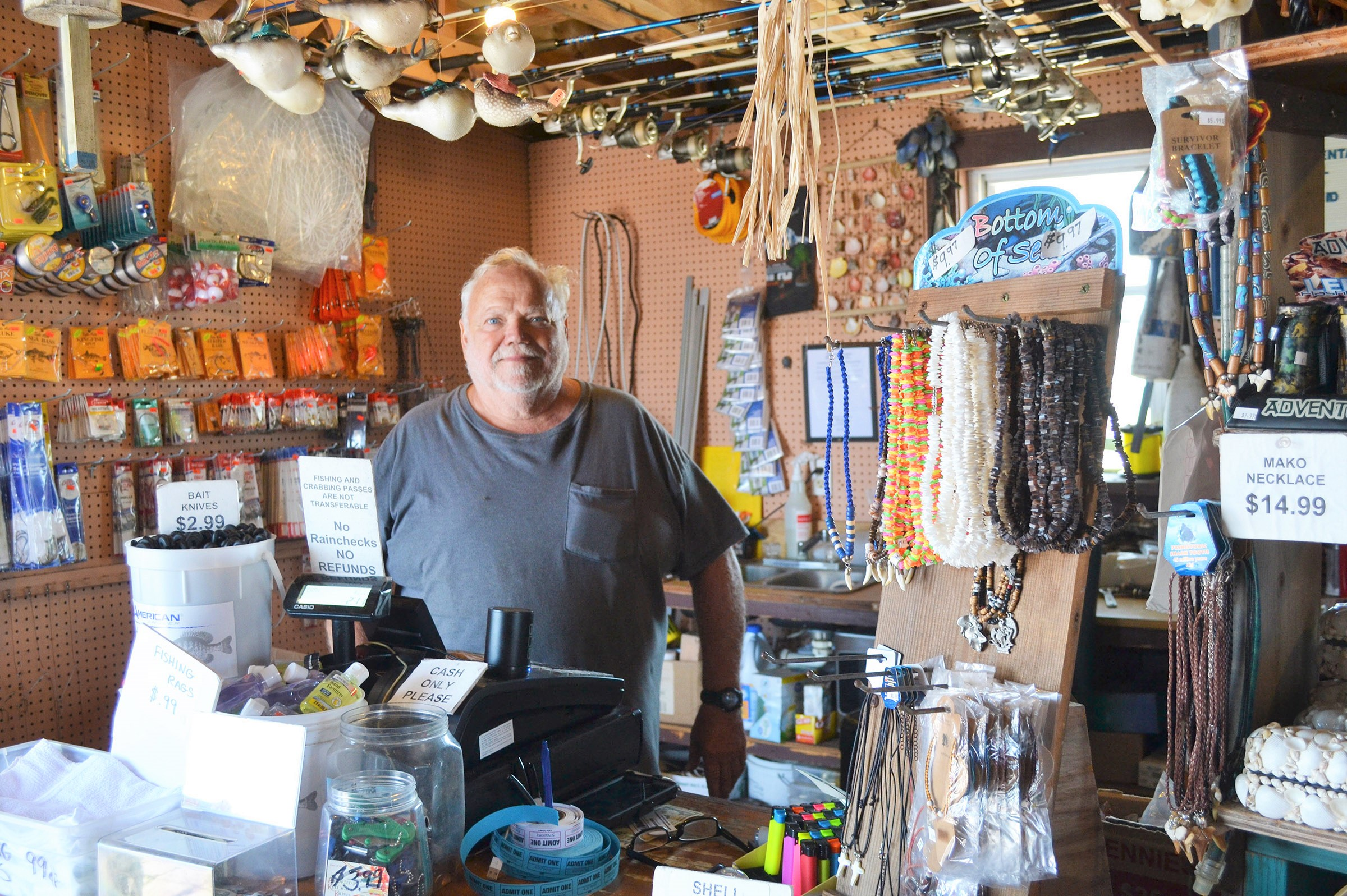 'Fishing Pier Pete' Loves His Job, Helping People; Jones A Mainstay On Wicomico Street For 23 Years