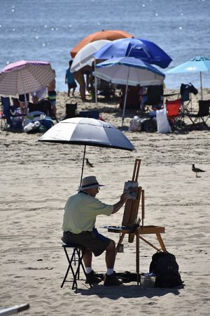 Prizes Awarded In Annual 'Artists Paint OC' Event