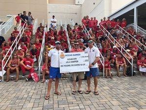 Swim Ocean City Makes Donation