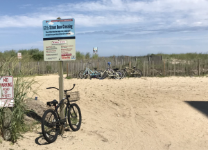 Beachfront Bike Racks Planned In Resort