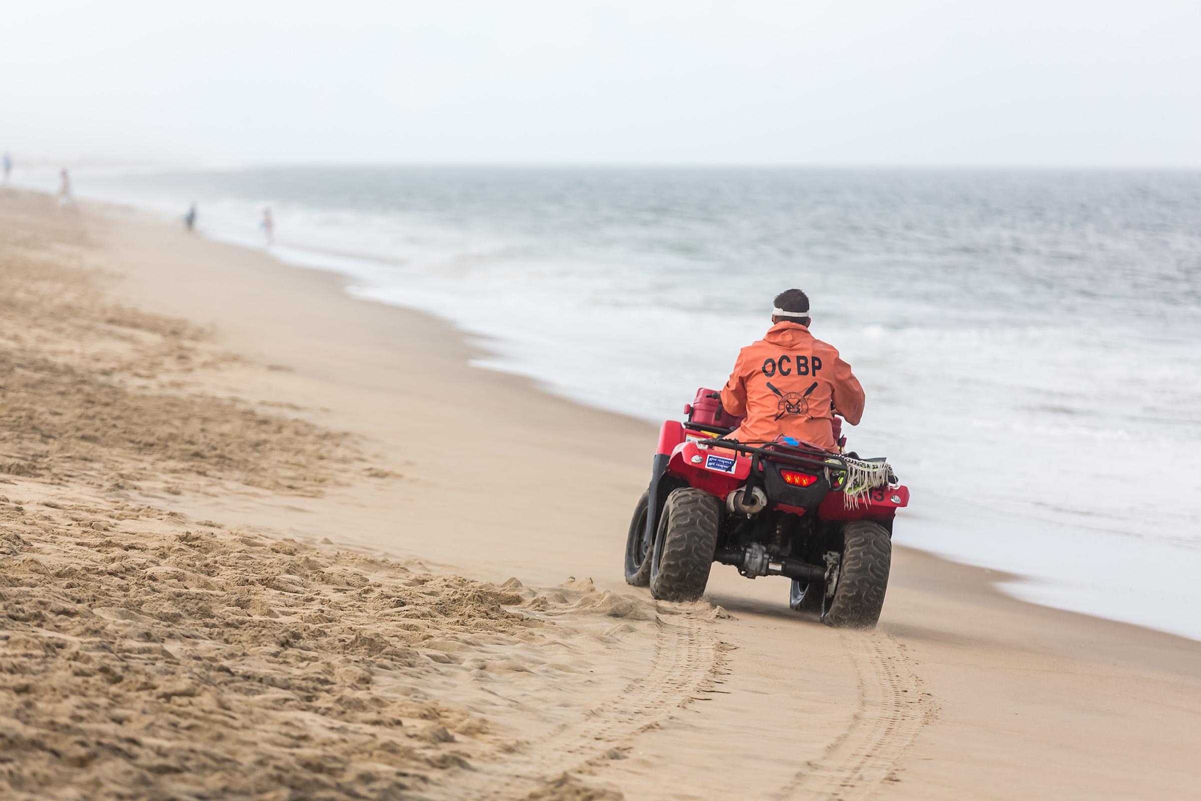 Reduced Beach Patrol Coverage In Effect In Ocean City