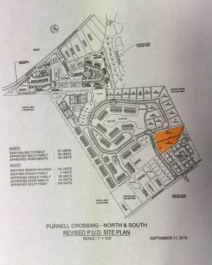 Berlin Housing Development's Lot Sizes Tweaked; Purnell Crossing Plans Originally Approved In 2001