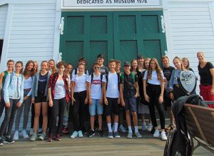 Exchange Students Visit Ocean City Life-Saving Station Museum