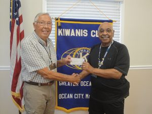 Kiwanis House Signs Donates To Ocean Pines Kiwanis Club