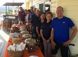 Rotary Club Provide Dinner At Believe In Tomorrow's House By The Sea
