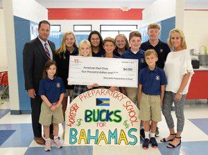 """Worcester Prep Sponsors  """"Bucks For The Bahamas"""" Day"""